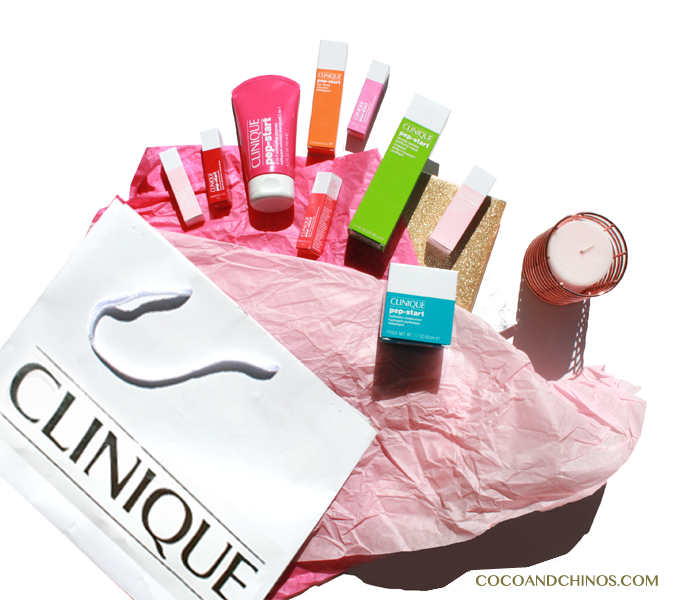 Clinique Pep-Start Skincare Range