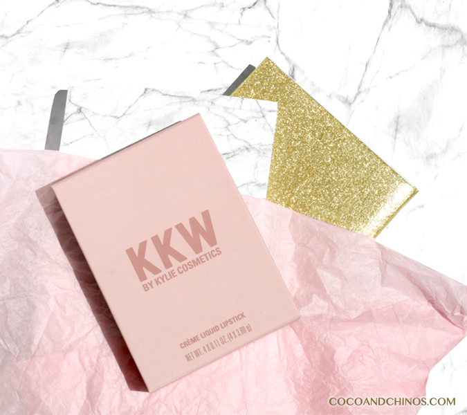 KKW Beauty x Kylie Cosmetics Crême Liquid Lipsticks Collection by Kylie Cosmetics
